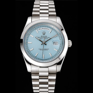 Rolex Miyota 40 Day-Date Ice Blue