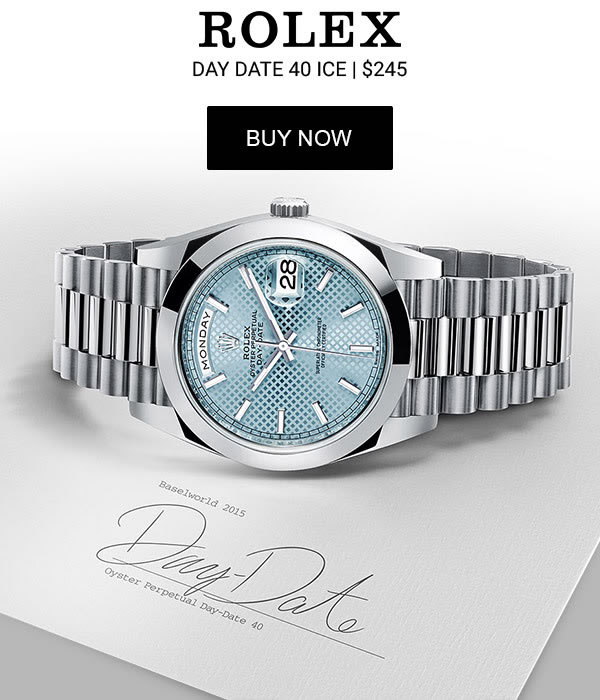 Rolex Day Date 40 Ice Replica